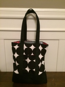 Fox Threads Lined Canvas Tote