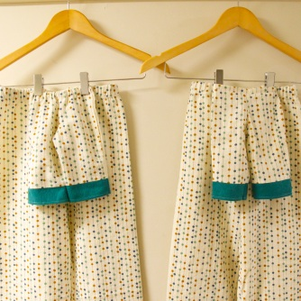 PJs on hangers