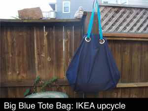 blue Ikea bag_make