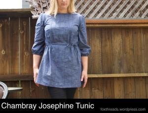 Chambray Josephine Tunic