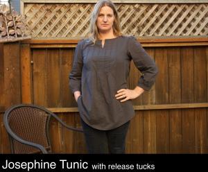 Josephine release tucks