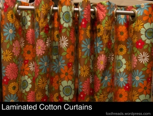 Laminated Cotton Curtains
