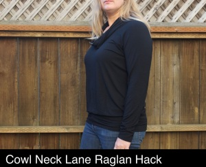 black cowl neck Lane_make