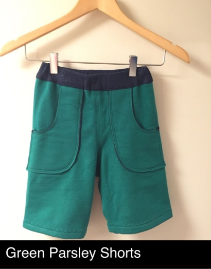green-parsley-shorts