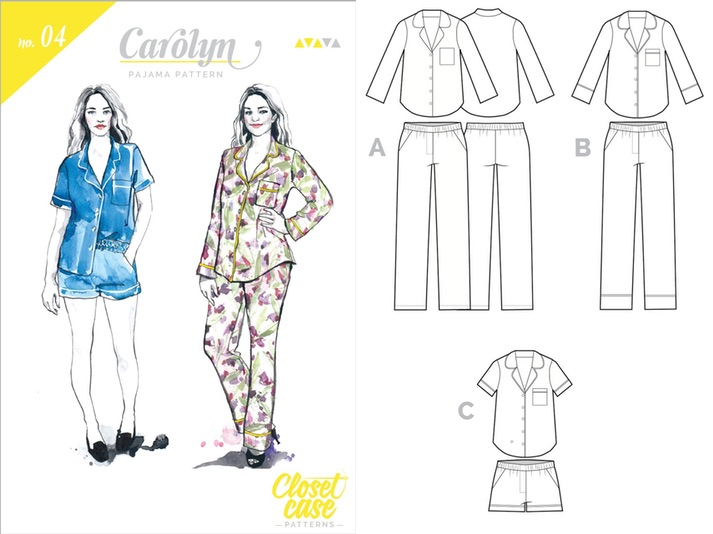 carolyn pajamas_combo