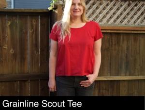 Grainline Scout tee_make