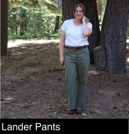Lander pants_make